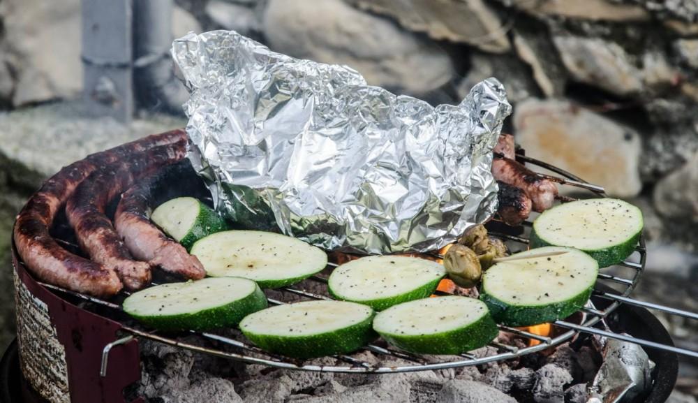 Urlaub Campingurlaub Italien Cervo Grillen