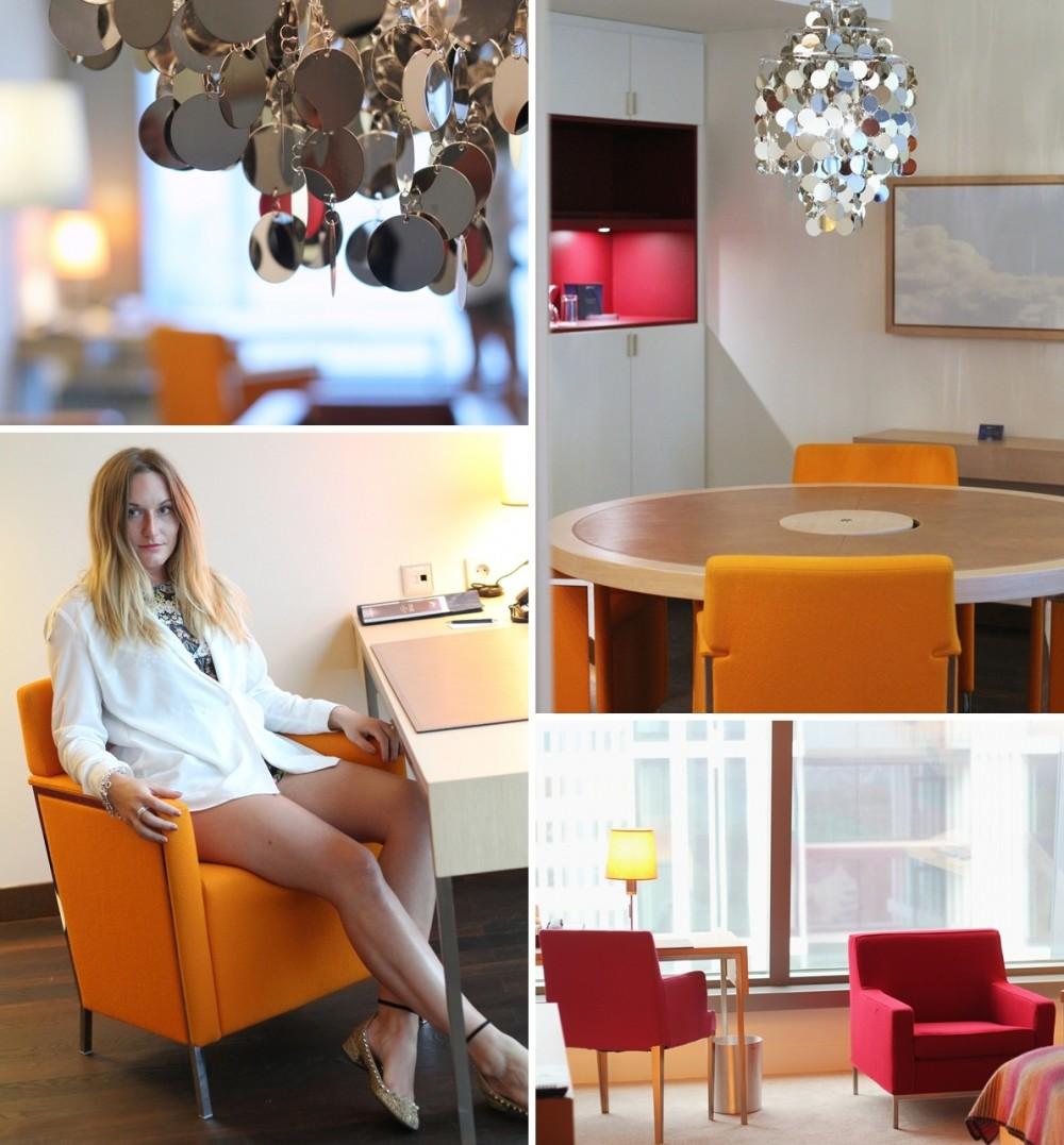 Radisson Blu Frankfurt Suite Collage
