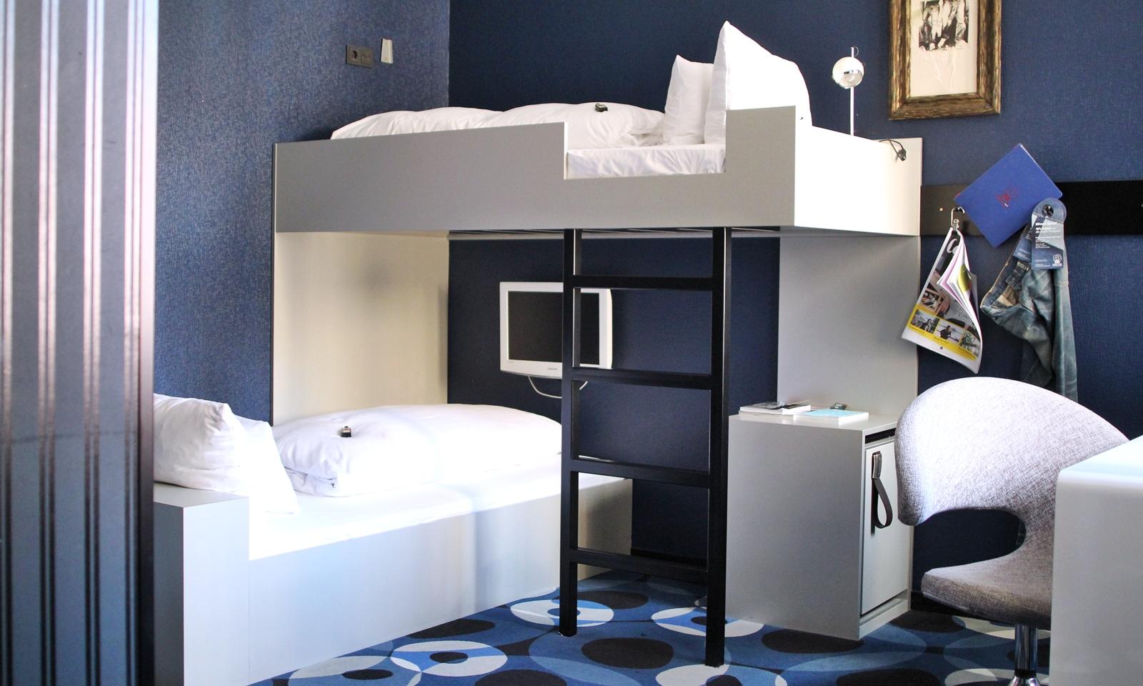 25 hours frankfurt stockbett hotelzimmer 2 lavie deboite. Black Bedroom Furniture Sets. Home Design Ideas