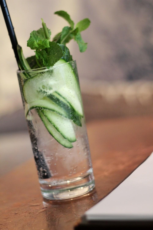 25 Hours Hotel Frankfurt Levis IMA Gurkenwasser