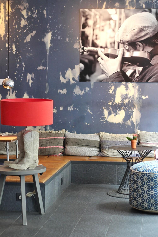 25 Hours Hotel IMA Restaurant Lounge Eingangsbereich