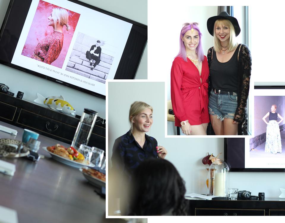 Olympus Pen Generation Instagram Workshop Fashion Week