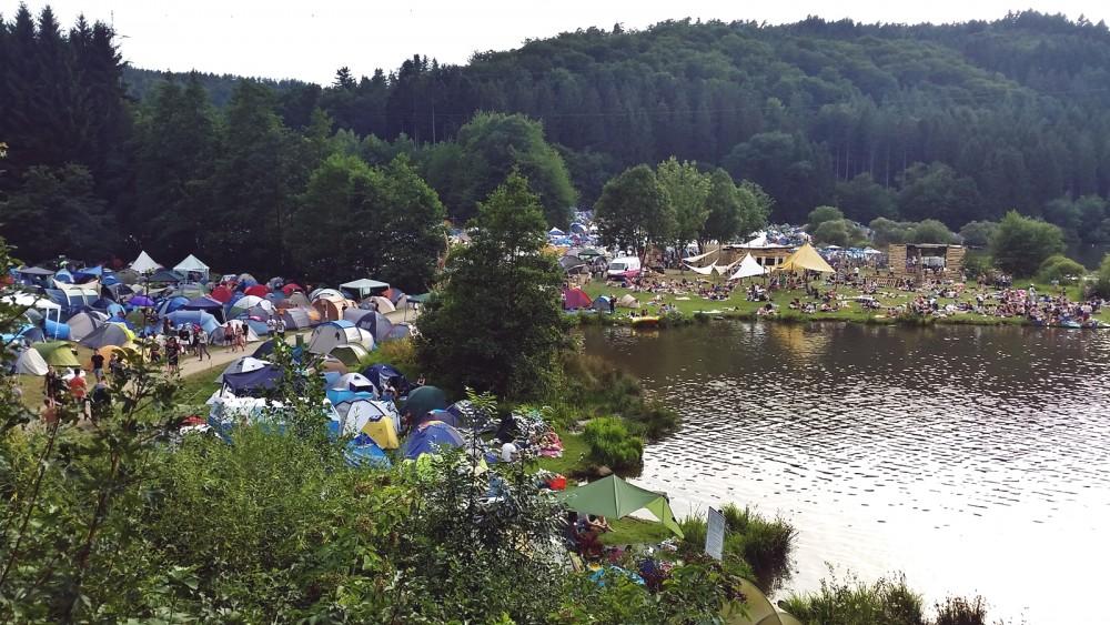 Gelände Sound of the Forest Festival