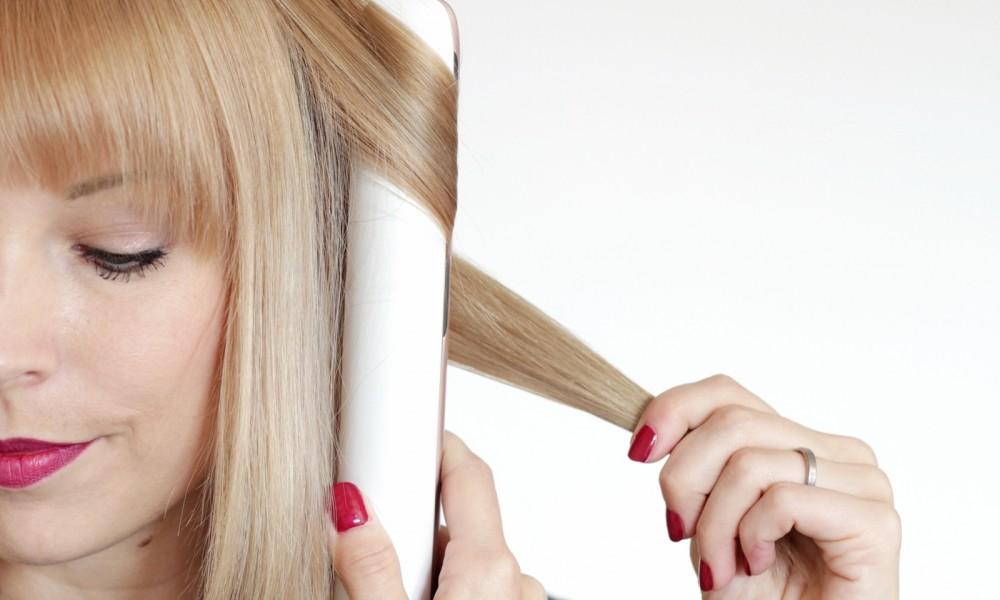 Philips Haarglätter Moisture Protect Locken machen