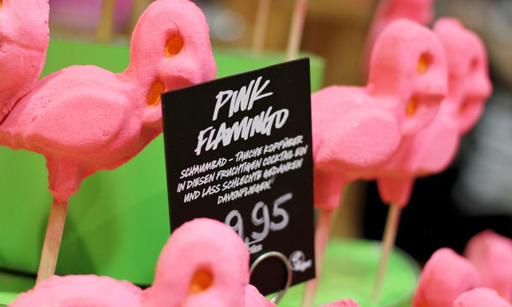 Pink Flamingo Schaumbad Lush Cosmetics 5