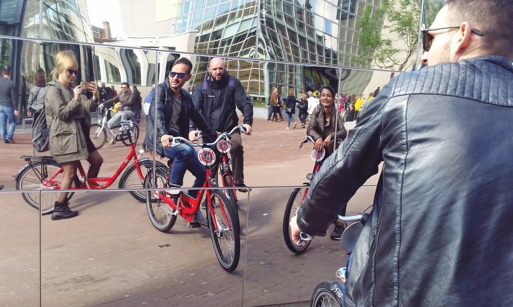 Amsterdam Museumsplatz Fahrrad