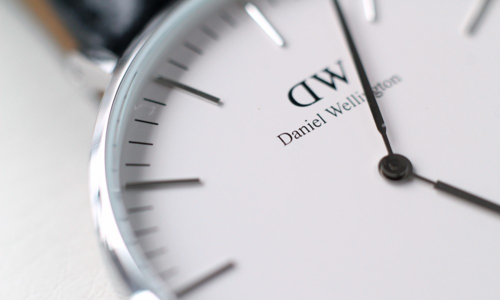 Fashionblogger Karlsruhe Daniel Wellington Uhr klassisch schwarz silber 4