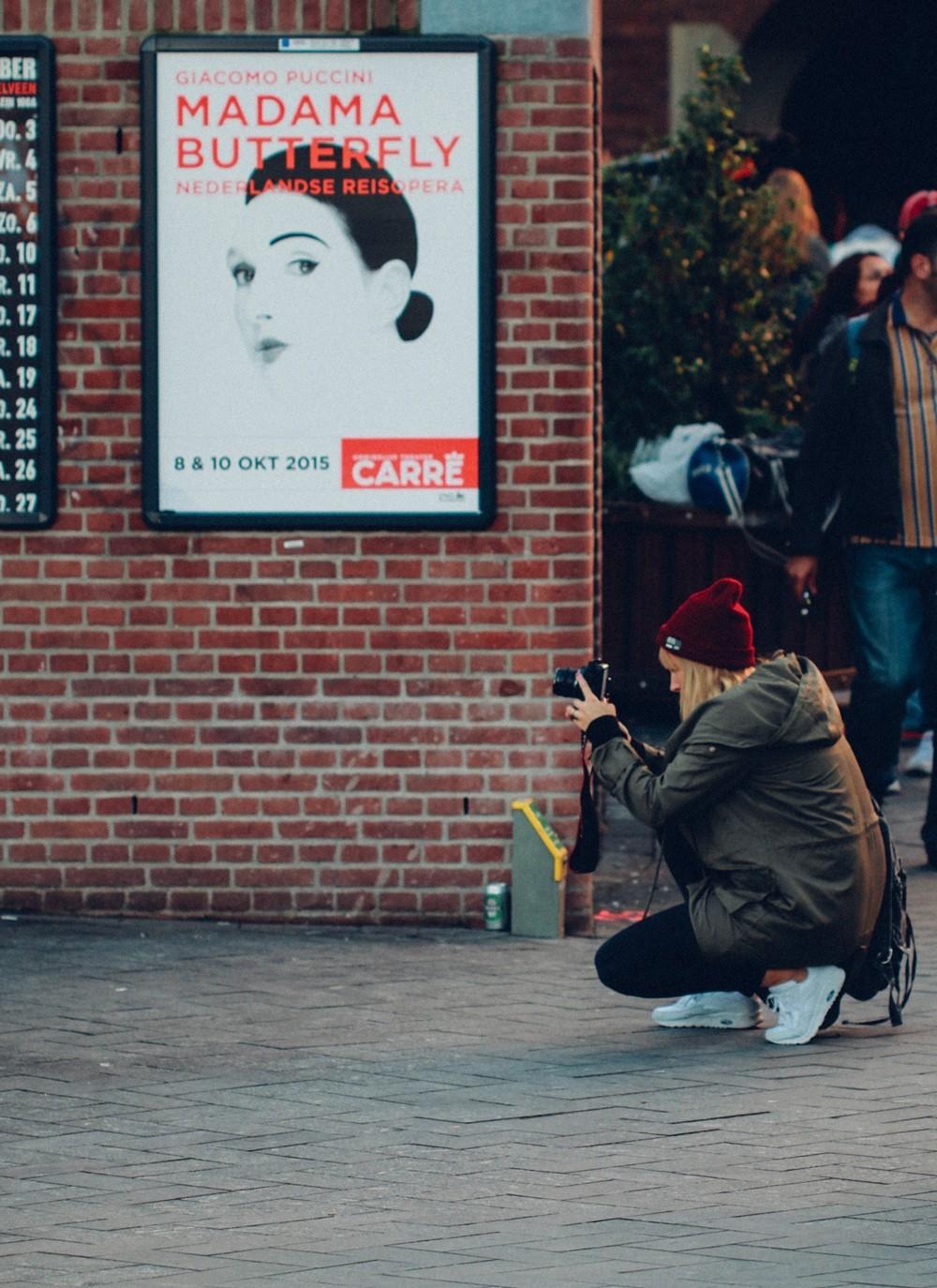 Fotografieren in Amsterdam