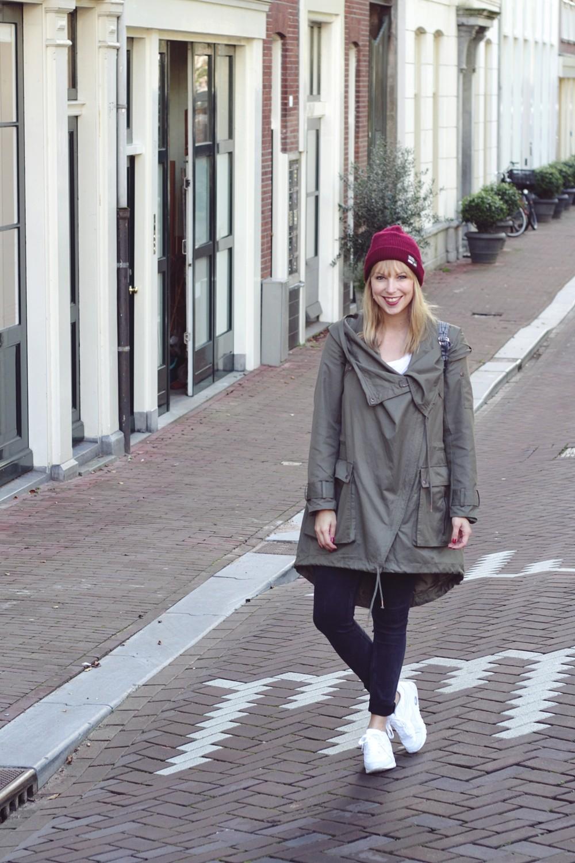 OOTD Amsterdam Tag 1 Parka Asos Beanie Vans Sneaker Deichmann