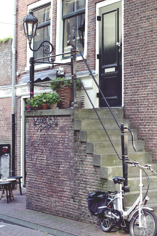 Treppen von Amsterdam