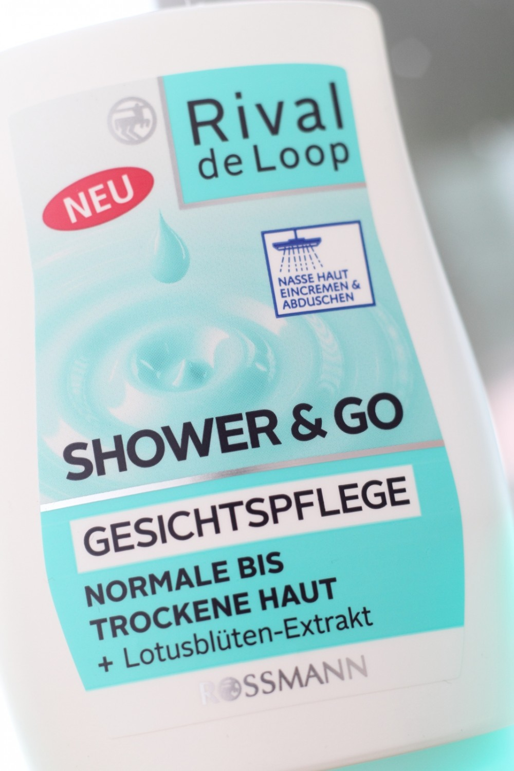 Rossmann Rival de Loop Neuheiten Shower and Go