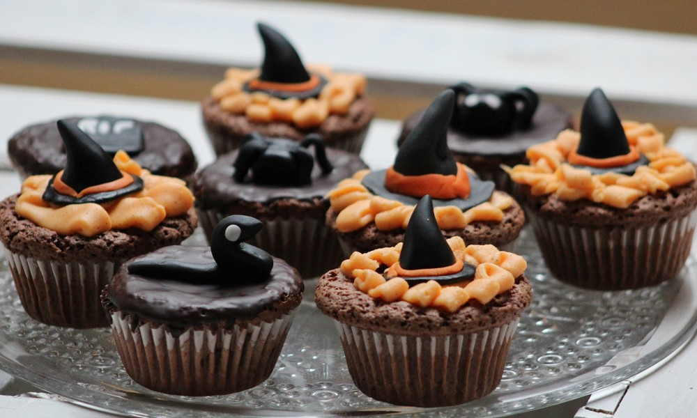Schokoladenmuffins Fondant Halloween 2