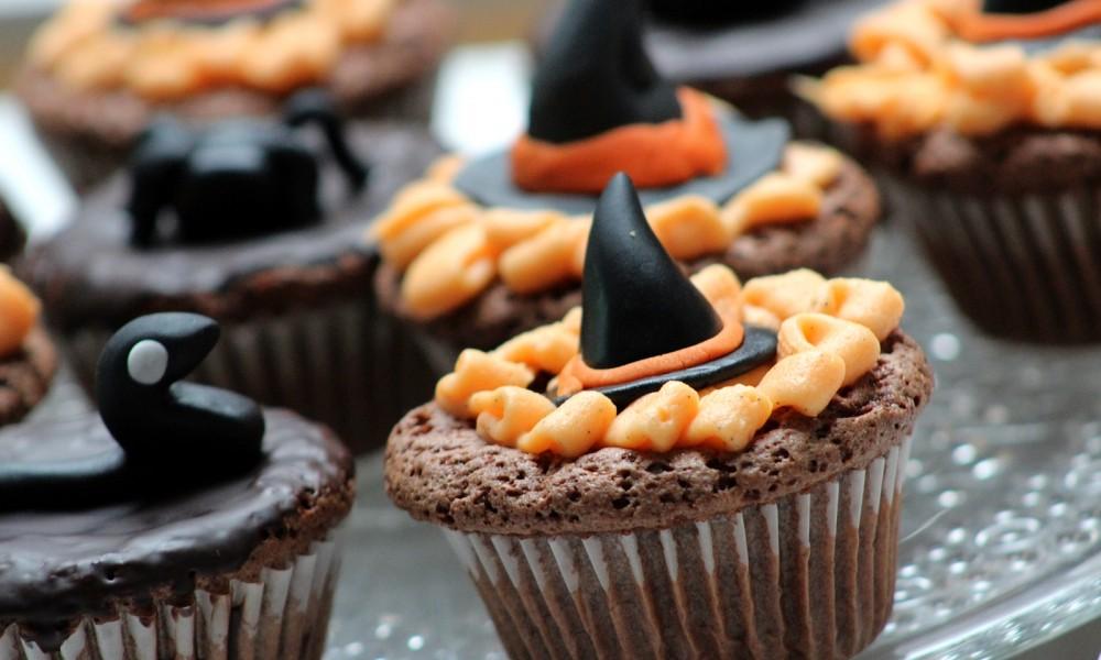 Schokoladenmuffins Fondant Halloween 4