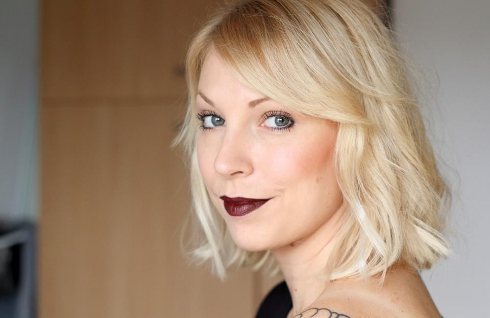 Beautyblogger Karlsruhe MAC Lippenstift Lipstick Antique Velvet Swatch 1