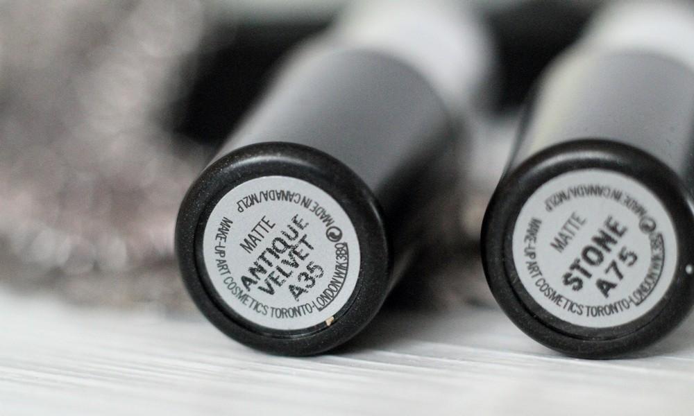 Beautyblogger Karlsruhe MAC Lippenstift Lipstick Stone Antique Velvet 2