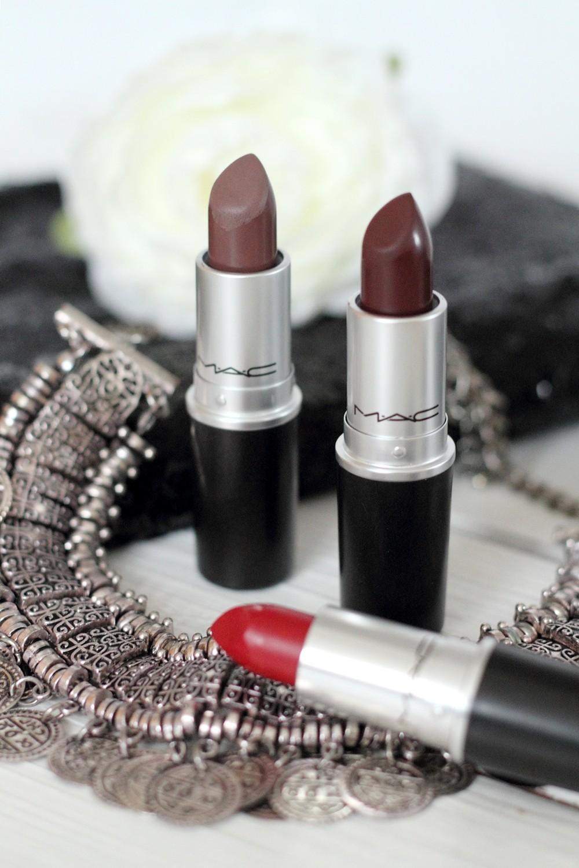 Beautyblogger Karlsruhe MAC Lippenstift Lipstick Stone Antique Velvet Russian Red 3