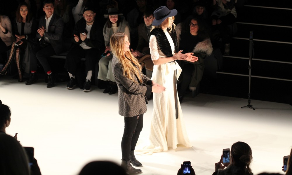 Rebecca Ruetz und Larissa Marolt Fashion Week Berlin Januar 2016