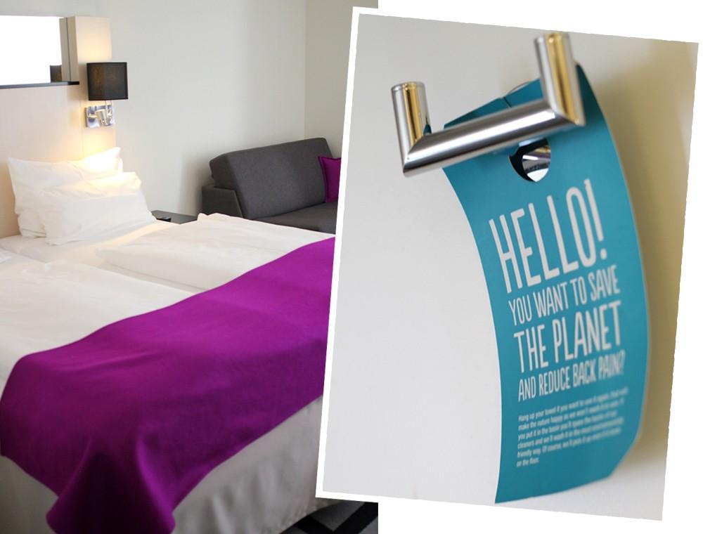 Scandic Hotel Kurfürstendamm Berlin Hotelzimmer Bett 2