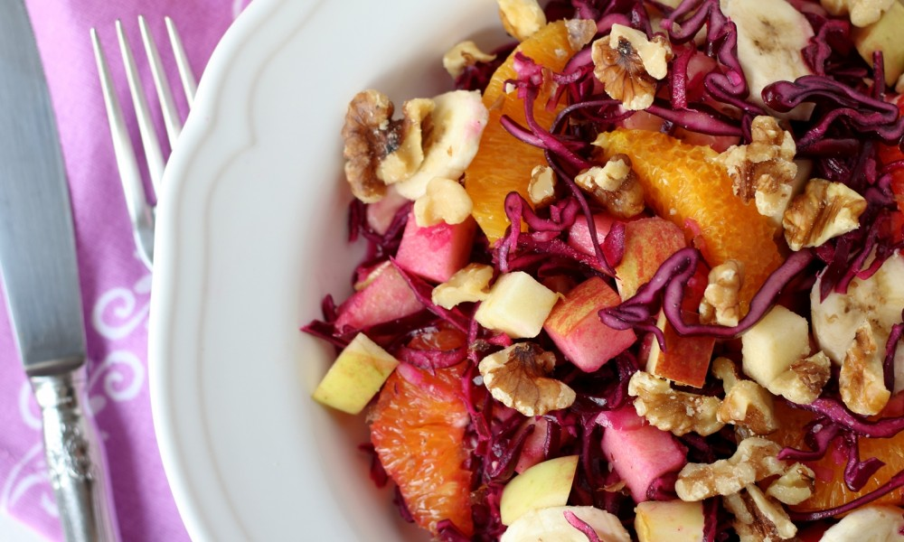 Fruchtiger Rotkohlsalat Rezept 6
