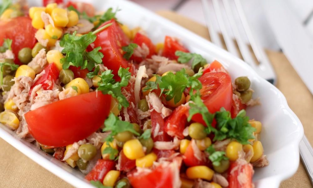 Thunfisch Tomaten Salat 3