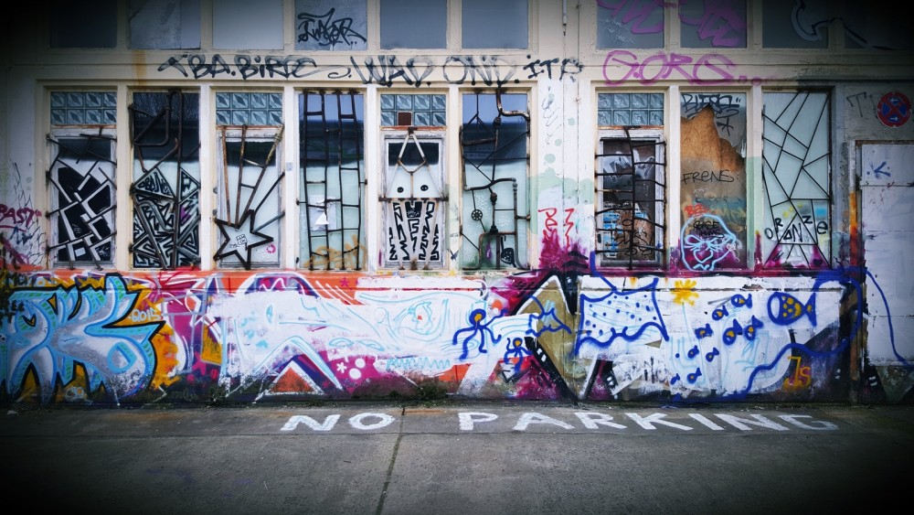 Neue Heimat Berlin Graffiti