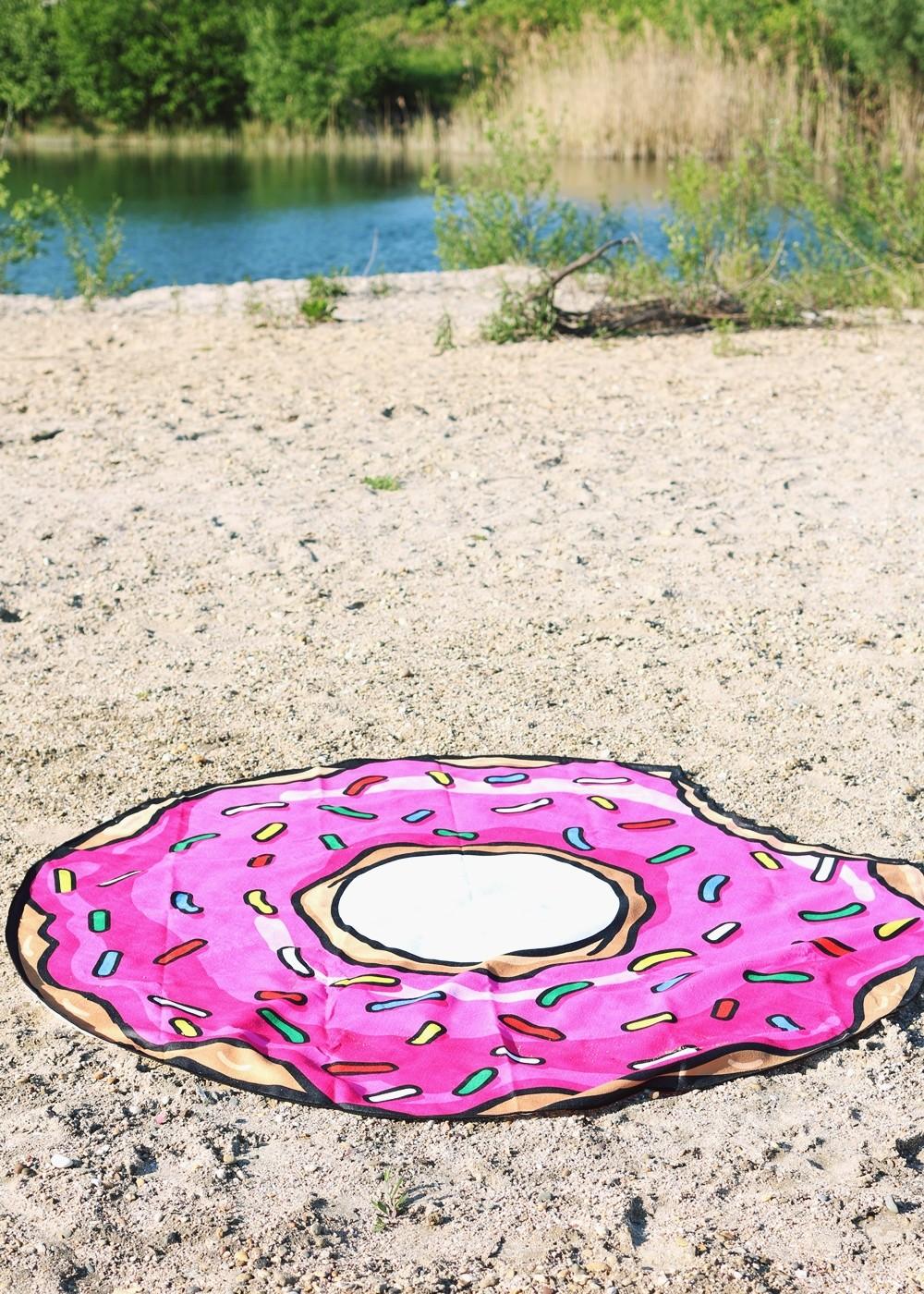 Flamingoschwimmring Donutstrandtuch Accessoires See Strand Radbag (8)