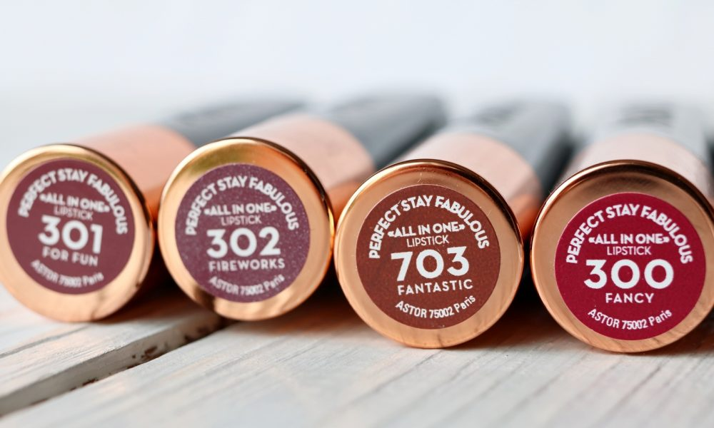 Astor Perfect Stay Fabulous Lippenstifte inklusive Swatches (9)