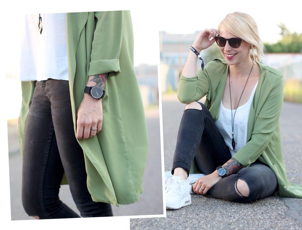 Fashionbloggerin Karlsruhe Outfit Parka Nike Air Max Sonnenbrille (1)