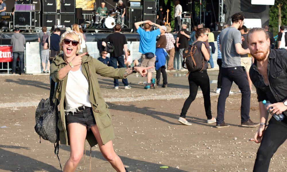 Festivalblogger Maifeld Derby Mannheim 2016 Photobomb