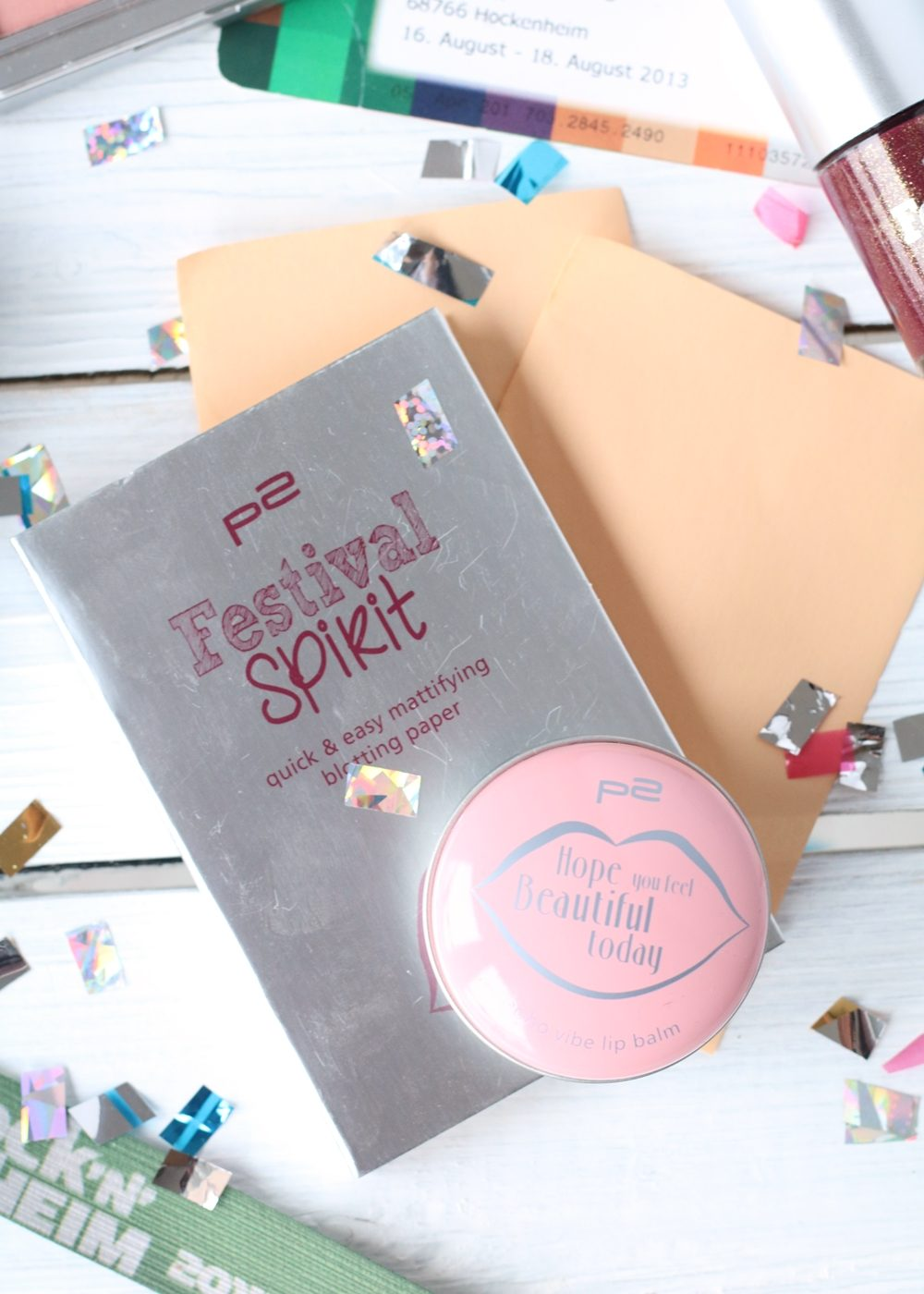 P2 Limited Edition Festival Spirit Nagellack Blush Lip Balm (3)