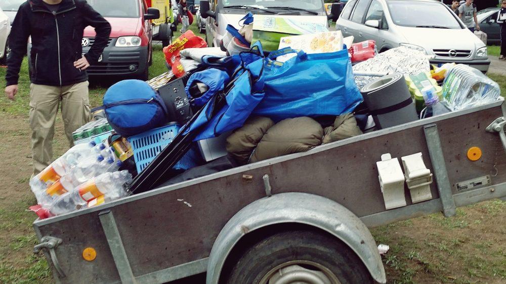 Rocknheim Festival 2014 Camping