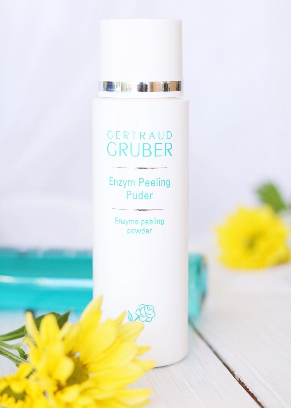 Beautypress Box August 2016 Gertraud Gruber Enzym Peeling Puder
