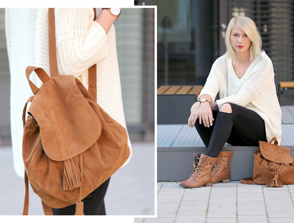 fashionbloggerin-karlsruhe-outfit-braune-schnuerboots-zign-strickpullover-noisy-may-fransenrucksack-just-fab-1