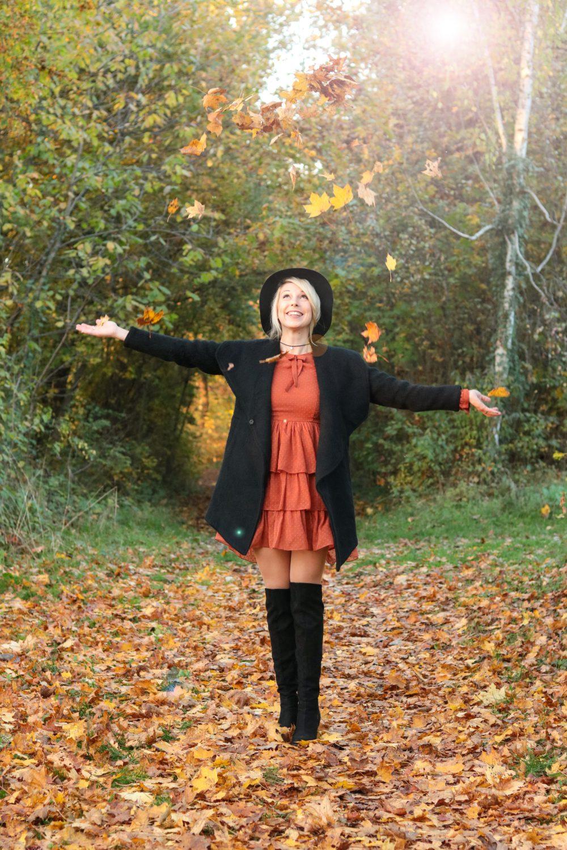 modeblogger-karlsruhe-outfit-herbst-kleid-vero-moda-rostrot-schwarzer-mantel-overknees-27-von-27