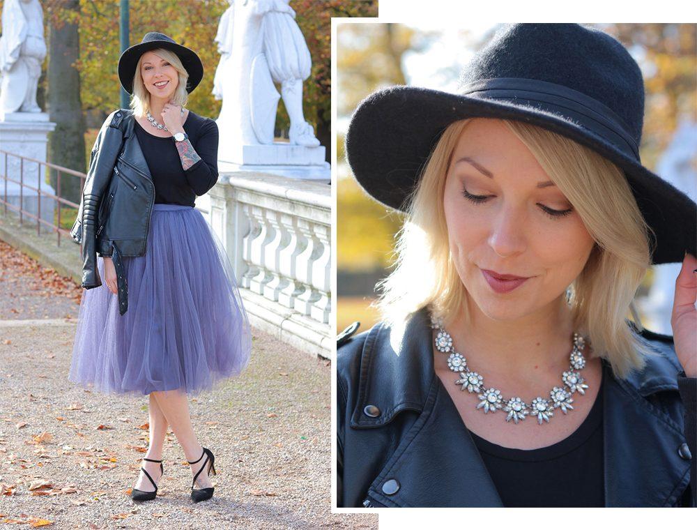 modeblogger-karlsruhe-outfit-herbst-kleid-vero-moda-rostrot-schwarzer-mantel-overknees-hut-2