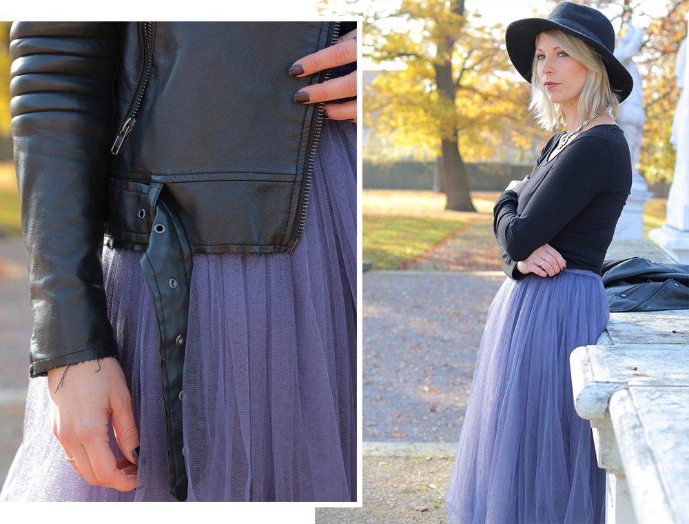 modeblogger-karlsruhe-outfit-herbst-kleid-vero-moda-rostrot-schwarzer-mantel-overknees-hut-3