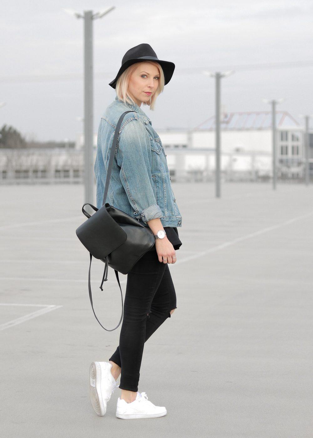 Nike Blazer Schwarz Outfit