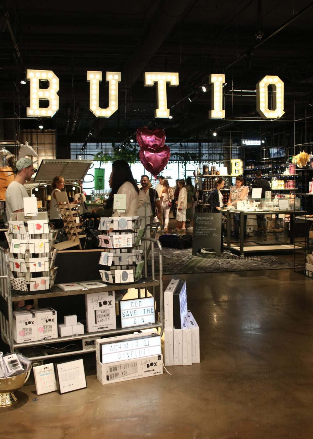 Butiq Mannheim mannheim bloggt bloggerevent im butiq concept store lavie deboite