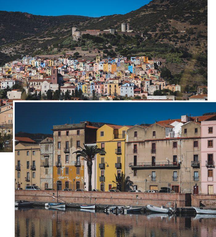 Häuser Italien reiseblogger urlaub auf sardinien bosa bunte häuser italien