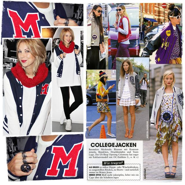 Trend Collegejacke Outfit Leggings Converse Chucks Lavie