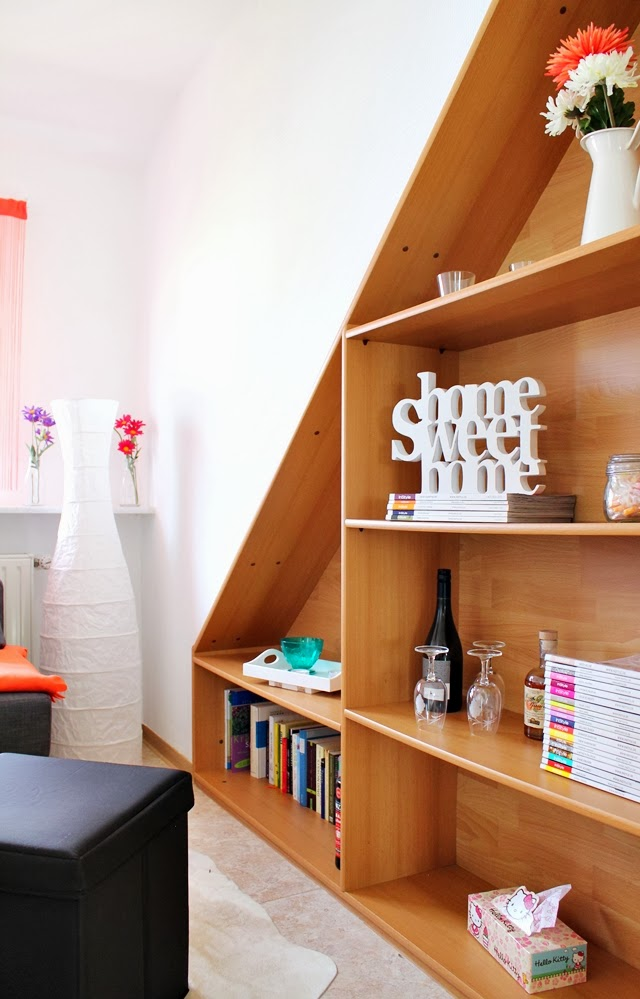 meine erste eigene wohnung wohnzimmer k che lavie deboite. Black Bedroom Furniture Sets. Home Design Ideas