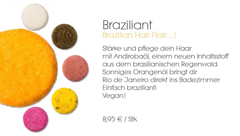 Braziliant Lush festes Shampoo