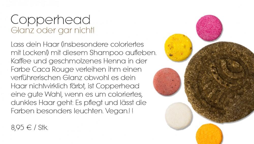Copperhead Lush festes Shampoo