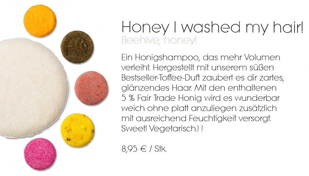 Honey Lush festes Shampoo