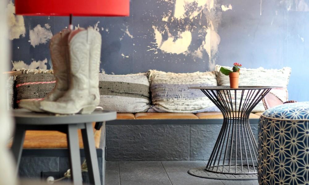 25 Hours Hotel IMA Restaurant Lounge Eingangsbereich 2