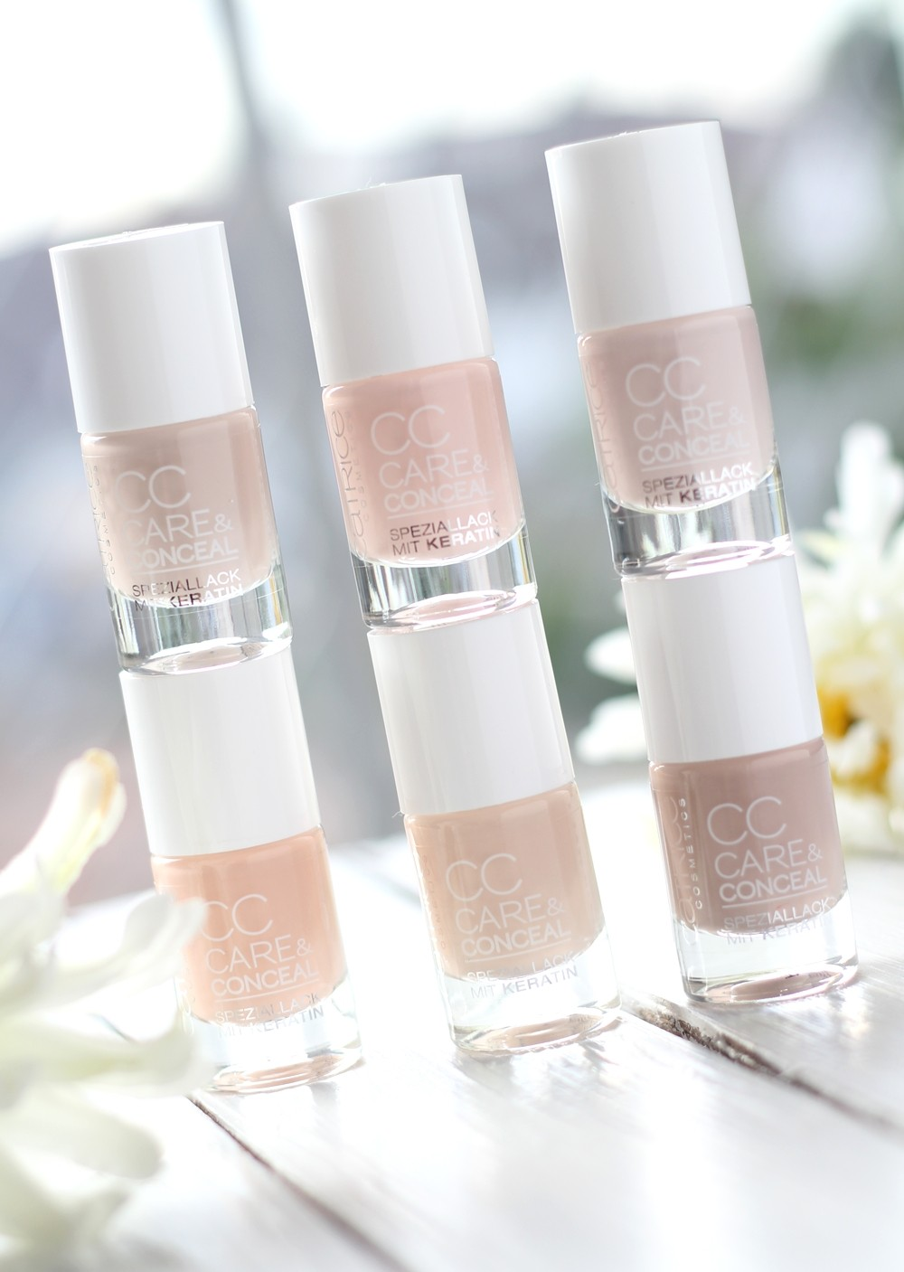 Catrice CC Care and Concealer Nagellack Nude