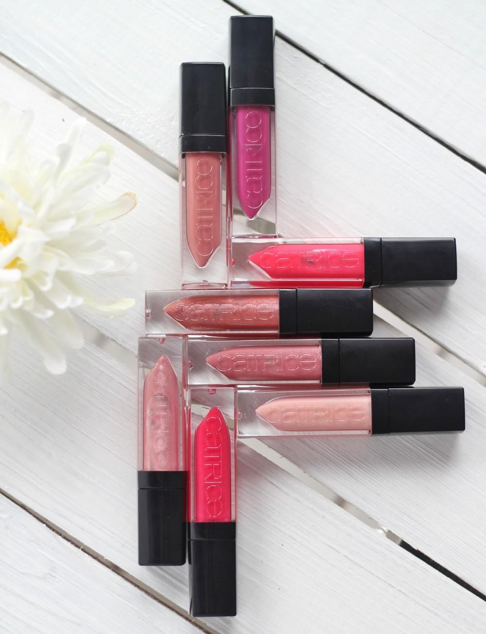 Catrice Shine Appeal Fluid Lipstick Übersicht 2