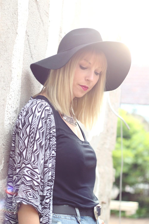 Festivallook Kimono High Waist Shorts 15