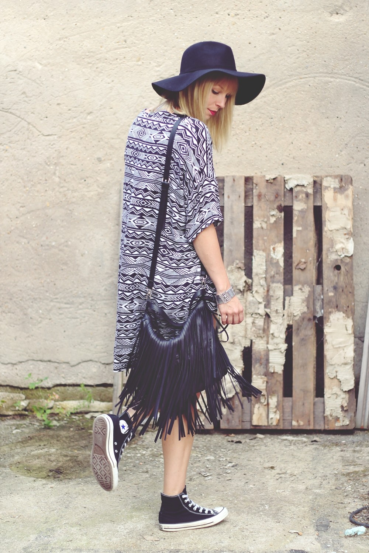 Festivallook Kimono High Waist Shorts 3