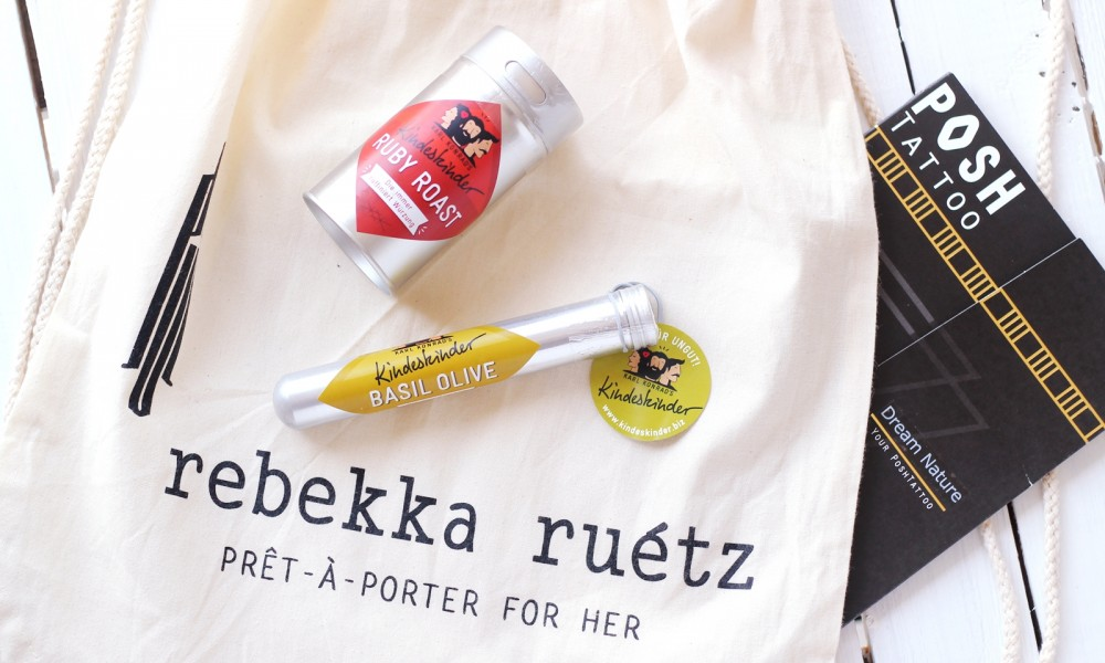 Goodie Bag Rebekka Ruetz Fashion Week 2015
